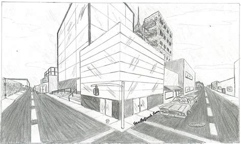 2 Point Perspective Drawing Cityscape by Two Point Cityscape By Alpha On Deviantart