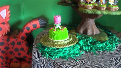 tortas en decoracion en safari fiesta tematica safari salome 6 a 209 itos salon mesas ni 209 os