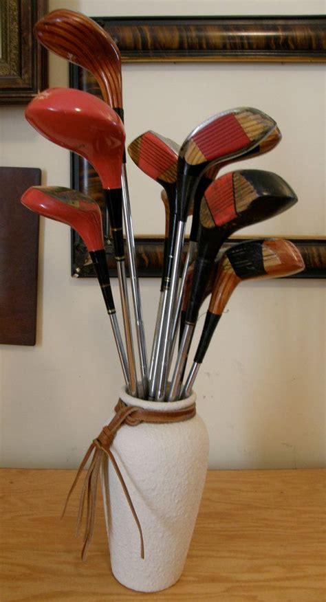 Repurpose Ls by Vintage Golf Clubs Repurposed Flowers One By