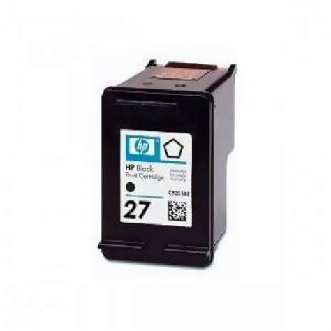 Tinta Hp 27 Black Original Exp hp 27 black original ink cartridge elevenia