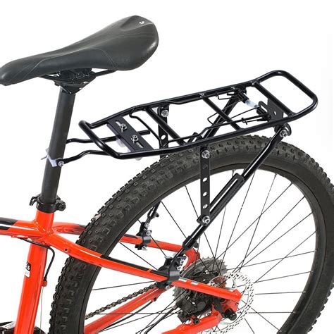 Bike Post Rack by Bike Rear Rack Bicycle Cycling Seat Post Mount Luggage Cargo Pannier Carrier Ebay