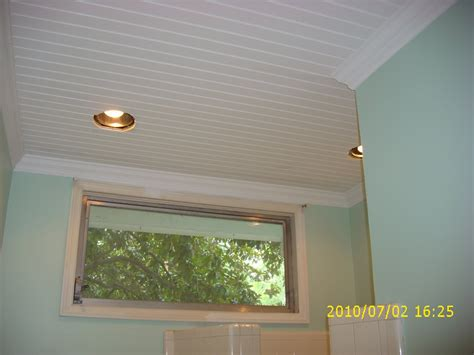 ceiling ideas for bathroom pinewood cottage garden bathroom ceiling is finished