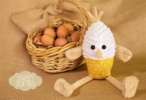 Boiley The Eggy by Sweet Softies Eggy Pop Sew4home