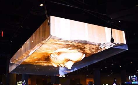 projected on ceiling trippy 3d projection mapped ceiling in vegas nightclub