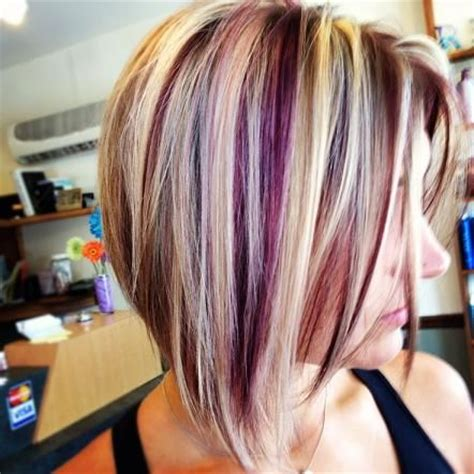 hair color pictures blonde purple lowlights fun fall hair this is closest to what my hair looks like