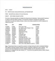 hr memo template sle memo 7 documents in pdf