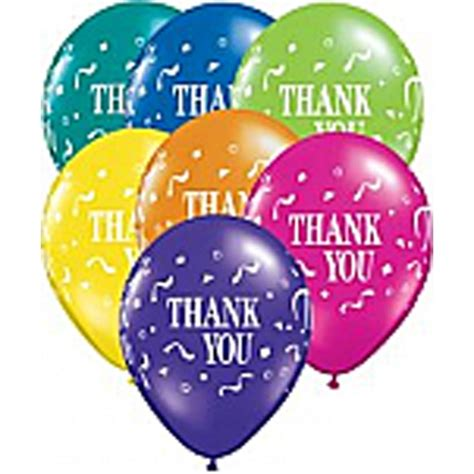 Thank You Letter Balloons bb11 singapore 12 inch thank you balloons