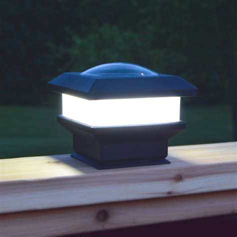 Flat Rail Deck Patio Solar Lights 12 Hours Of Solar Light Flat Solar Lights