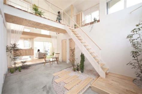 simple house design inside and outside simple japanese kofunaki house has small trees and shrubs