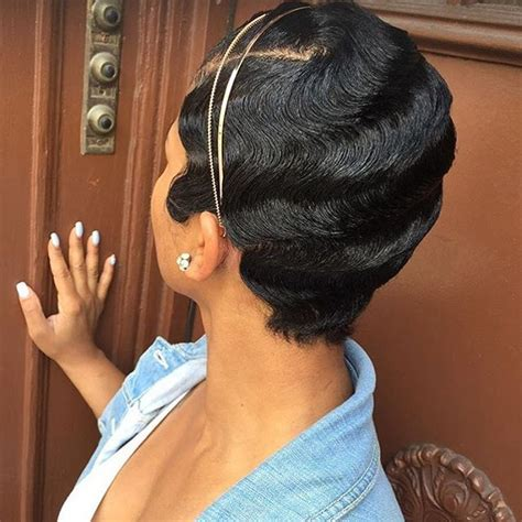 pixie cut with waves 381 best cute styles fingerwaves soft curls images on