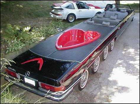 limos with tubs in them 10 12 passenger ultimate stretch mercedes benz convertible
