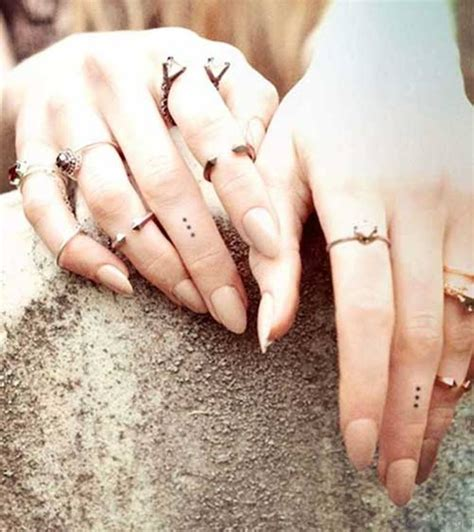 tattoo meaning dots on fingers 29 nice dots tattoos for fingers