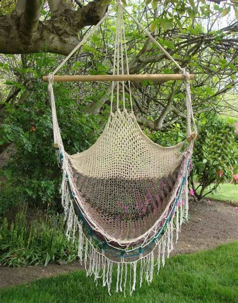 macrame hammock vintage macrame hammock swing chair 1970s by jbhoffman on