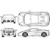 Car Blueprints / Чертежи автомобилей  Lamborghini