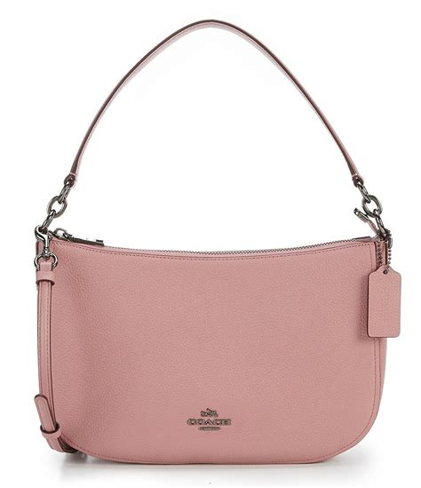 Coach Chelsea Vintage Leather Satchel by Coach Chelsea Crossbody In Pebble Leather Dillards