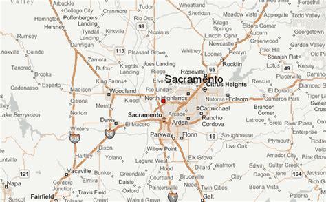 california map sacramento sacramento location guide
