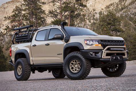 chevrolet colorado concept chevrolet colorado zr2 aev concept truck uncrate