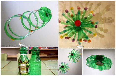 adorno com botella decartable manualidades de reciclaje www pixshark com images