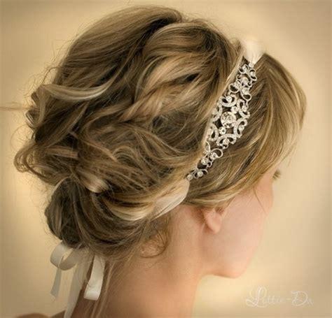 hairstyles with diamond headband prom hairstyles with headbands