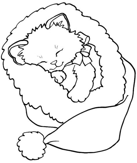 christmas coloring pages kitty 633 best printable noel images on pinterest tags