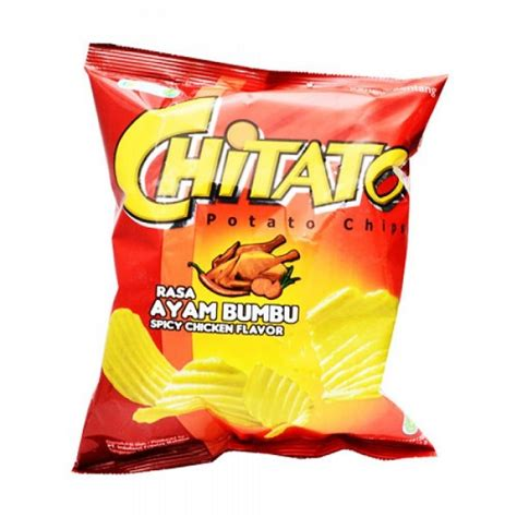 Chitato Ayam Bumbu 75 Gr chitato spicy chicken 68 gr