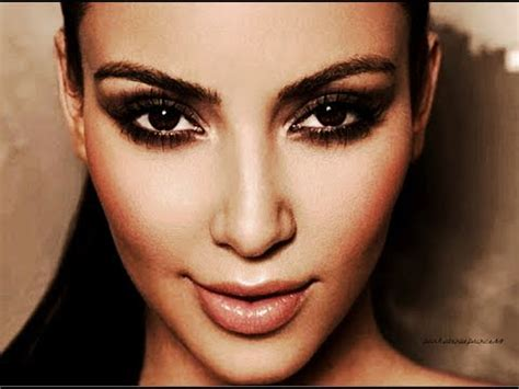 kim kardashian smokey eyes part 3 apllying eyeshadow kim kardashian bronzy smokey eyes youtube