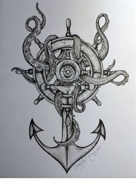 1000 ideas about ship wheel tattoo on pinterest sailor