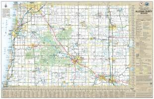 maps allegan county road commission
