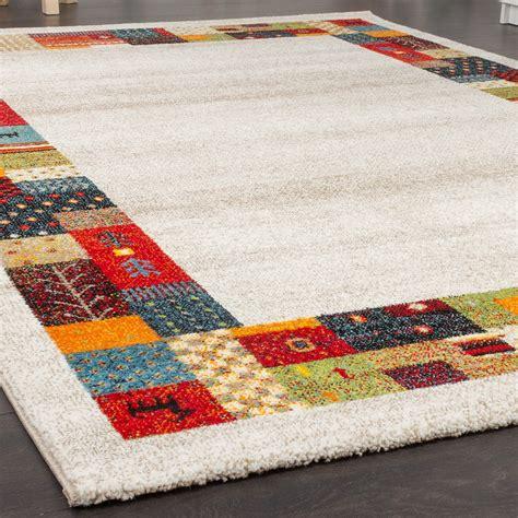 gabbeh teppiche modern loribaft border designer rug nomadic rug