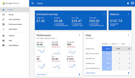 xamarin adsense google brings material design to adsense dashboard for