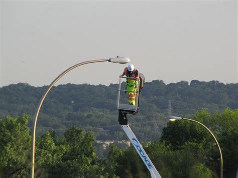 street light pole images the street lights of the freeways streets mn