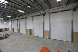 Overhead Garage Door Track Inside Karon Masonry S Warehouse Insulated Commercial Garage Doors High Lift Track