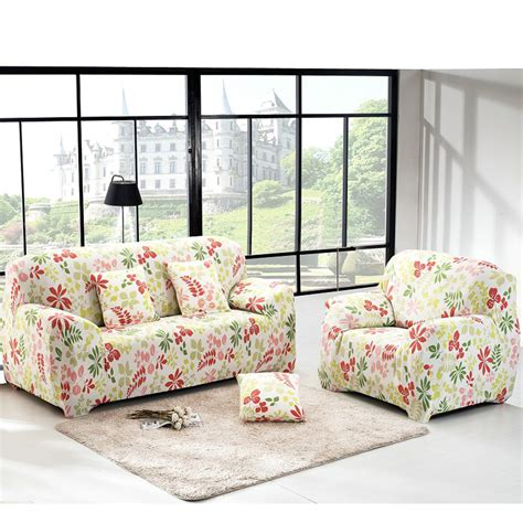 Printed Tight All Inclusive Sofa Towel Slipcover Stretch Printed Sofa Slipcovers