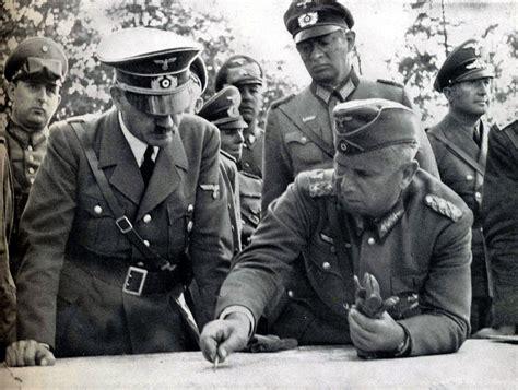 biografi singkat adolf hitler nazi jerman kunjungan adolf hitler ke front polandia 1939