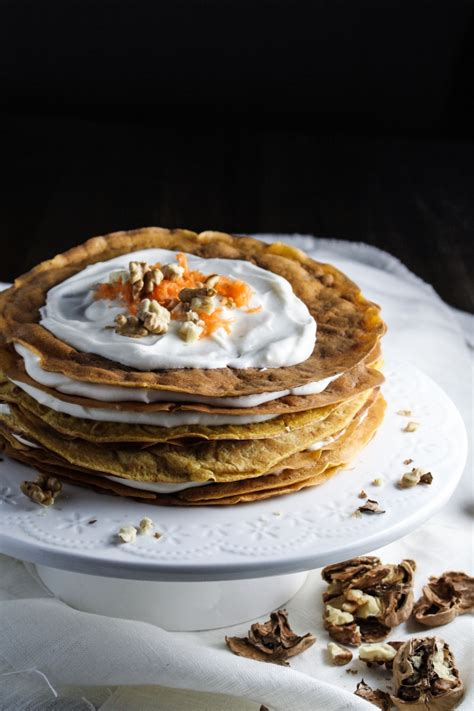 Wich Of The Week Estelas The Carrot by Ingredient Of The Week Carrots Carrot Cake Crepe Cake