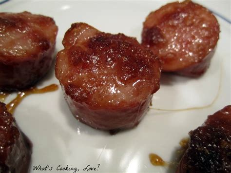 brown sugar kielbasa bites whats cooking love