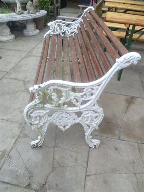 antique garden bench antiques atlas antique cast iron garden bench seat