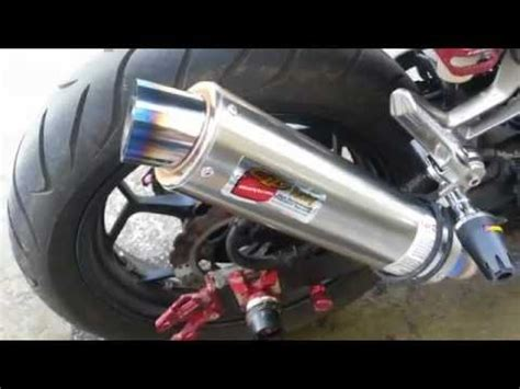 Knalpot All New Cb150r Slip On Yoshimura R 11 Biru leovince cobra system for 250 y 2013 funnydog tv