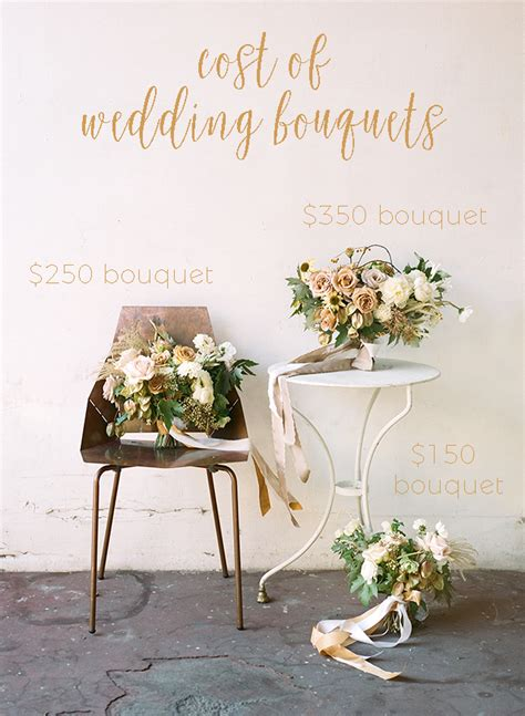 Wedding Bouquet Cost by Average Cost Of A Wedding Bouquet Budget Breakdown