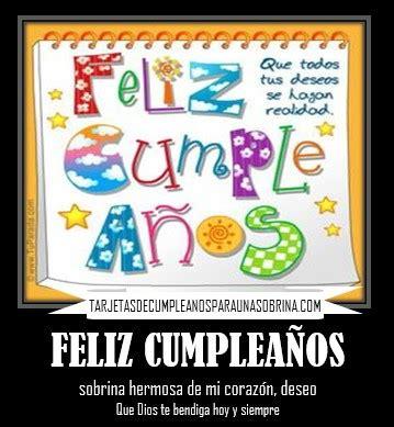 imagenes bonitas de feliz cumpleaños sobrina im 225 genes de feliz cumplea 241 os sobrina dios te bendiga