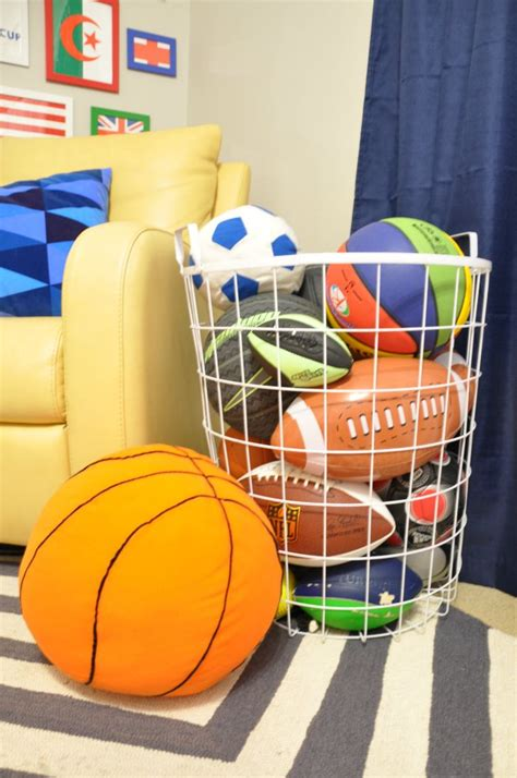 Garage Storage Ideas For Balls 25 Best Ideas About Storage On Garage