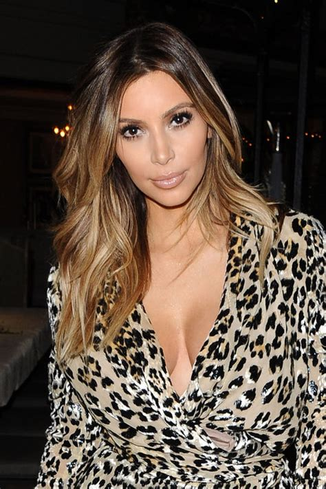 kim kardashian blonde balayage highlights photos well that was fast kim kardashian is blond again