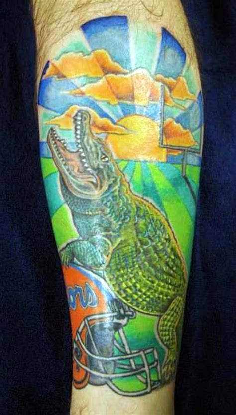 florida gator tattoo designs a collection of sec tattoos from all fanbases