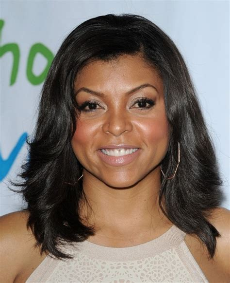 what type of hair does taraji henson weave taraji p henson medium layered cut taraji p henson