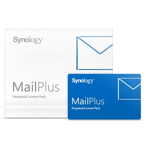 synology license synology pack licences mailplus accessoire nas synology