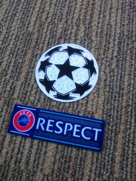 Patch Starball Uefa Winner 2017 Manchester United For Original Jersey starball respect uefa chions league set patch dibujo