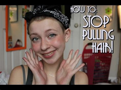 how to stop from pulling how to stop pulling your hair by k vlogs workout panther