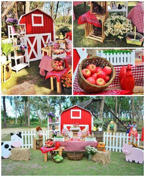 Barnyard Decorations by Kara S Ideas Chic Barnyard Birthday Via Kara S
