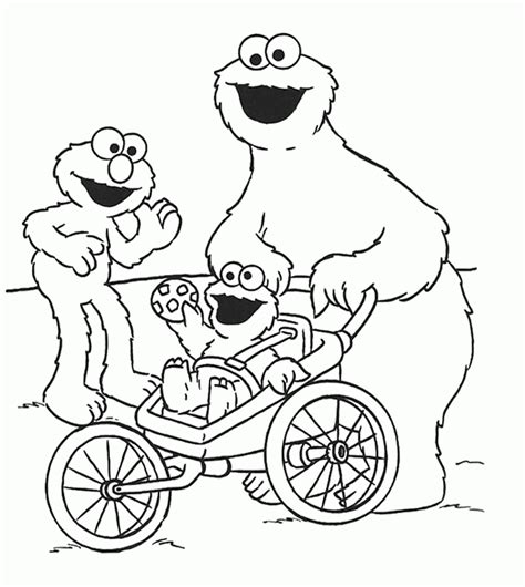 elmo coloring pages pdf cookie monster and elmo colouring pages coloring home