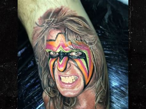 ultimate warrior tattoo ultimate warrior mask www imgkid the image